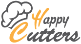 happy cutters logo, cookie cutters, fondant cutters, clay cutters, kitchen cutters, cookie molds