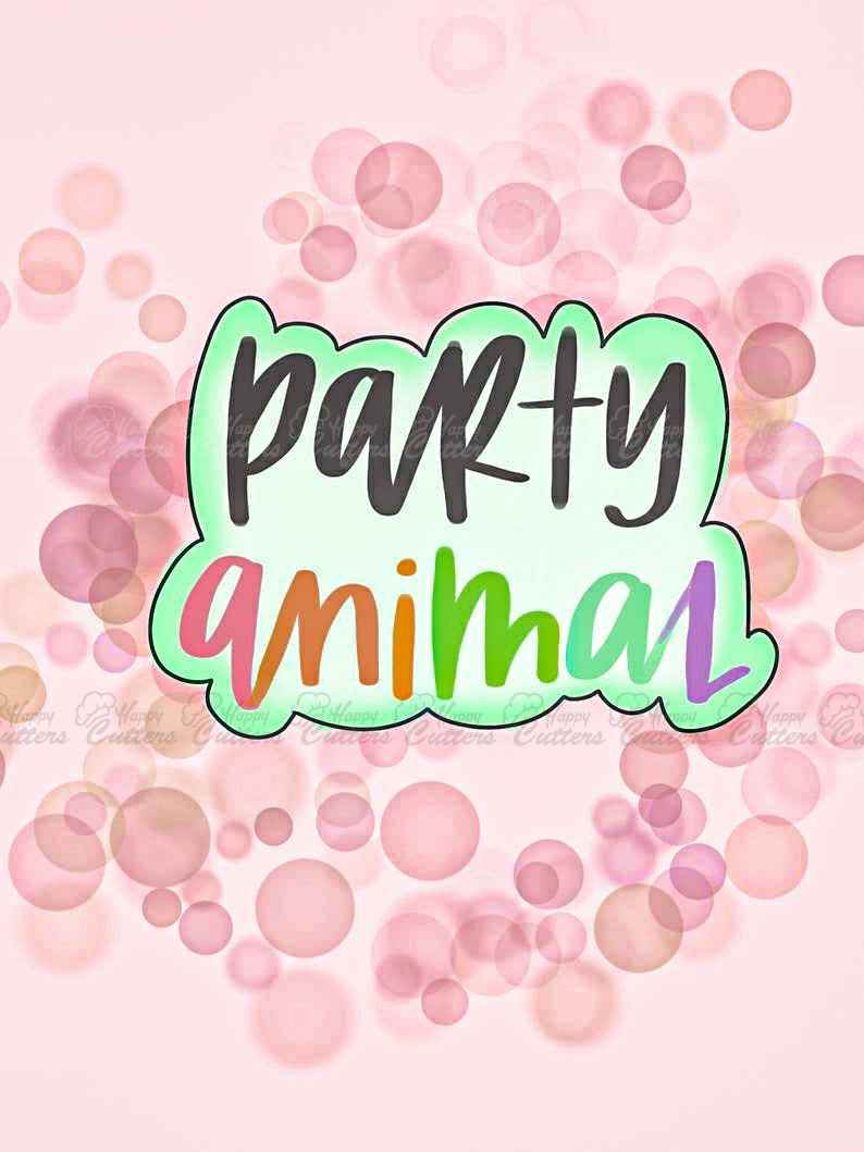 Party Animal Cookie Cutter,                       letter cookie cutters, cursive letter cookie stamp, cursive letter fondant cutters, fancy letter cookie cutters, large letter cookie cutters, letter shaped cookie cutters, impression cookie cutters, sneaker cookie cutter, airplane cookie cutter, stadter cookie cutters, small alphabet cookie cutters, rocking horse cookie cutter, lips cookie cutter, christmas cookie cutters big w,
