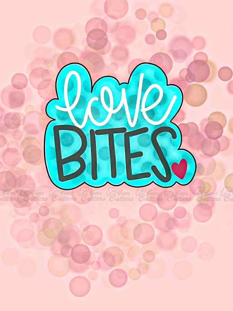 Love Bites Plaque Cookie Cutter,                       letter cookie cutters, cursive letter cookie stamp, cursive letter fondant cutters, fancy letter cookie cutters, large letter cookie cutters, letter shaped cookie cutters, star cookie cutter michaels, truck and tree cookie cutter, 4 foot gingerbread cookie cutter, meeple cookie cutter, coffee cup cookie cutter, yoga cookie cutters, dire wolf cookie cutter, elk cookie cutter,