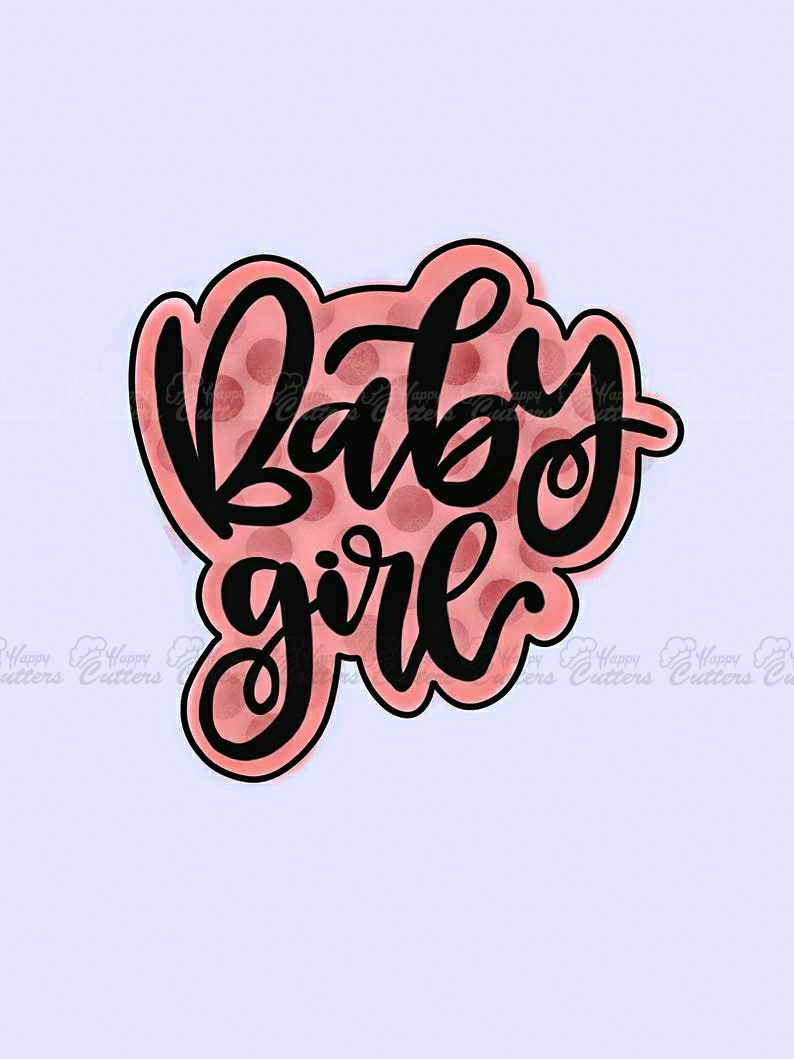 Baby Girl Plaque Cookie Cutter,                       letter cookie cutters, cursive letter cookie stamp, cursive letter fondant cutters, fancy letter cookie cutters, large letter cookie cutters, letter shaped cookie cutters, dog bone shaped cookies, harry potter cookie stencils, tent cookie cutter, biscuit cutter with handle, cotton candy cookie cutter, dog paw cookies, western cookie cutters, birthday cake cookie cutter,