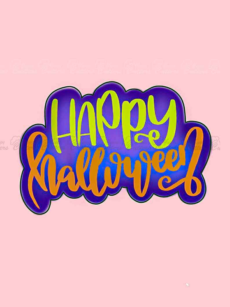 Happy Halloween Plaque Cookie Cutter,                       letter cookie cutters, cursive letter cookie stamp, cursive letter fondant cutters, fancy letter cookie cutters, large letter cookie cutters, letter shaped cookie cutters, english bulldog cookie cutter, lol cookie cutter, karate cookie cutters, small star cutter, red truck cookie cutter, extra large gingerbread man cookie cutter, canadian tire cookie cutters, cherry blossom cookie cutter,