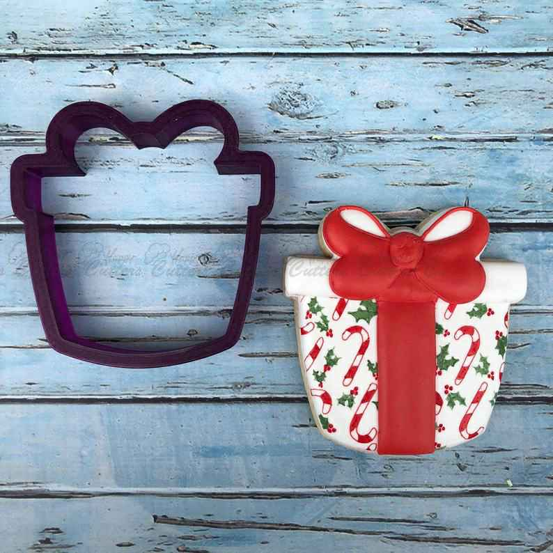 Present #2 Cookie Cutter and Fondant Cutter and Clay Cutter,                       birthday cookie cutters, happy birthday cookie cutter, birthday cake cookie cutter, happy birthday cookie stamp, baby shower cookie cutters, bridal shower cookie cutters, australian cookie cutters, nerdy cookie cutters, dog cookie cutters near me, gear cookie cutter, minnie mouse bow cookie cutter, rattle cookie cutter, small circle cookie cutter, alphabet cookie cutters big w,