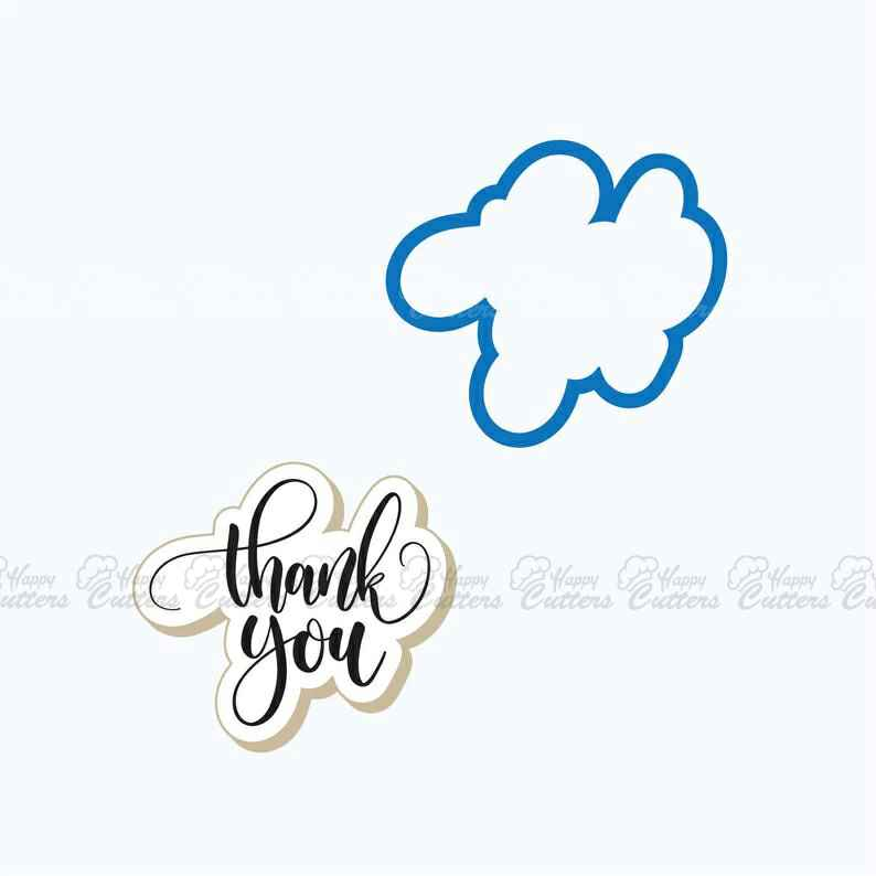 Thank You Cookie Cutter | Thank You Plaque Cookie Cutter | Thanks Cookie Cutter | Plaque Cookie Cutter | FrostedCo,                       letter cookie cutters, cursive letter cookie stamp, cursive letter fondant cutters, fancy letter cookie cutters, large letter cookie cutters, letter shaped cookie cutters, gingerbread man cookie cutter, spongebob cookie cutter, heavy duty cookie cutters, cookie cutters canadian tire, horse shaped cookie cutter, sunflower cookie cutter, wedding cake cookie cutter, large gingerbread man cutter,