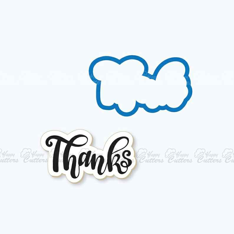 Thanks Plaque Cookie Cutter,                       letter cookie cutters, cursive letter cookie stamp, cursive letter fondant cutters, fancy letter cookie cutters, large letter cookie cutters, letter shaped cookie cutters, bone biscuit cutter, fluted round cookie cutter, number 7 cookie cutter, cookie stamps canada, winnie the pooh cookie cutters, tiny star cookie cutter, unusual cookie cutters uk, paw patrol logo cutter,