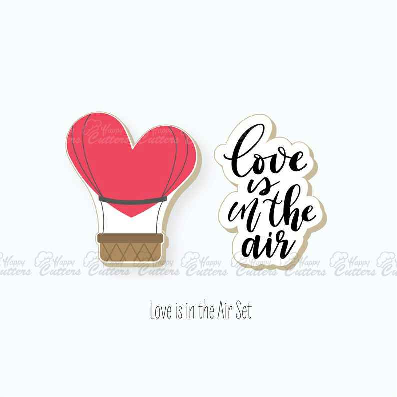 Valentines Cookie Cutters | Love is in the Air Set Cookie Cutters | Hot Air Balloon Cookie Cutter | Plaque Cookie Cutter | FrostedCo,                       letter cookie cutters, cursive letter cookie stamp, cursive letter fondant cutters, fancy letter cookie cutters, large letter cookie cutters, letter shaped cookie cutters, helmet cookie cutter, large heart shaped cookie cutter, apple shaped cookie cutter, horseshoe cookie cutter, dna cookie cutter, wilton cookie cutters, goldendoodle cookie cutter, michael jackson cookie cutter,