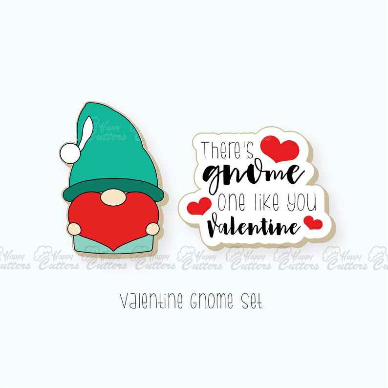 Valentines Cookie Cutters | Gnome and Plaque Cutter Set | Gnome Cookie Cutter | Plaque Cookie Cutter | Valentines Day Cookie Cutters,                       letter cookie cutters, cursive letter cookie stamp, cursive letter fondant cutters, fancy letter cookie cutters, large letter cookie cutters, letter shaped cookie cutters, hockey cookie cutters, charlie brown cookie cutters, sandwich cookie cutters, eevee cookie cutter, bride and groom cookie cutters, tom and jerry cookie cutters, k cookie cutter, minnie cookie cutter,