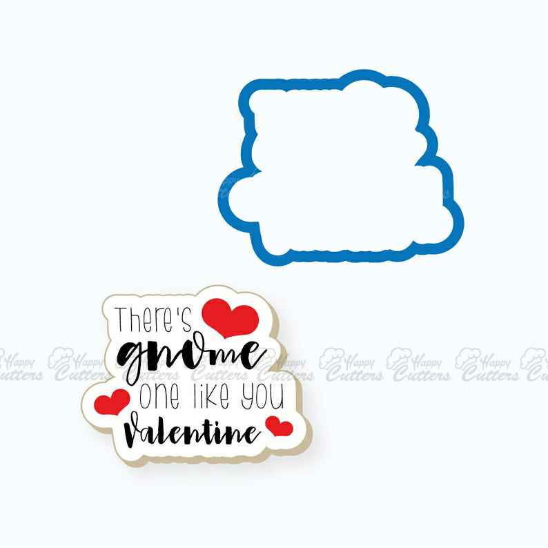 Plaque Cookie Cutter | Gnome One Like You Plaque Cookie Cutter | Gnome Cookie Cutter | Valentines Day Cookie Cutter | FrostedCo,                       letter cookie cutters, cursive letter cookie stamp, cursive letter fondant cutters, fancy letter cookie cutters, large letter cookie cutters, letter shaped cookie cutters, deer cookie cutter, dragon cookie cutter, christmas cutters, lipstick cutter, r cookie cutter, christmas cookie cutter set, baseball glove cookie cutter, horse cookie cutter michaels,