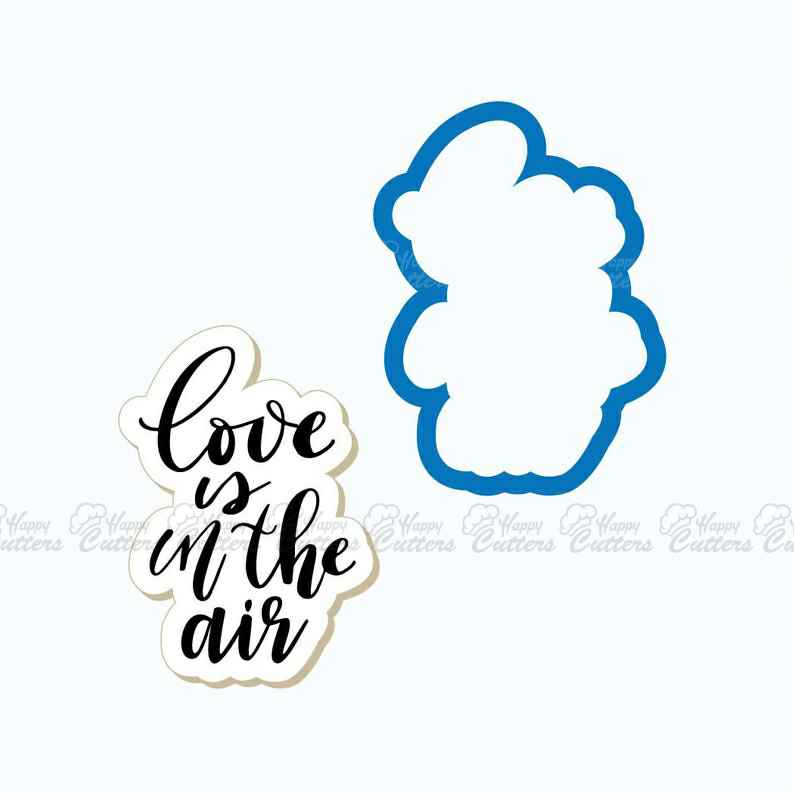 Love is in the Air Plaque Cookie Cutter,                       letter cookie cutters, cursive letter cookie stamp, cursive letter fondant cutters, fancy letter cookie cutters, large letter cookie cutters, letter shaped cookie cutters, horror cookie cutters, scandinavian cookie cutters, giant gingerbread cookie cutter decoration, small gingerbread man cookie cutter, triceratops cookie cutter, ear cookie cutter, globe cookie cutter, ninjabread man cookie cutter,
