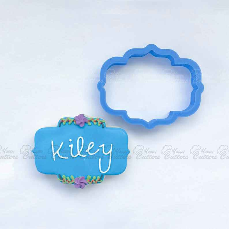 The Kiley Plaque Cookie Cutter | Plaque Cookie Cutters | 3D Cookie Cutters,                       plaque cookie cutter, plaque cookie, square plaque cookie cutter, cookie plaque, shape cutters, round cookie cutters, incredibles cookie cutter, giant christmas cookie cutters, graduation cookie cutters michaels, bob's burgers cookie cutters, jungle animal cookie cutters, betty crocker cookie cutter set, vintage biscuit cutter, giant cookie cutters,