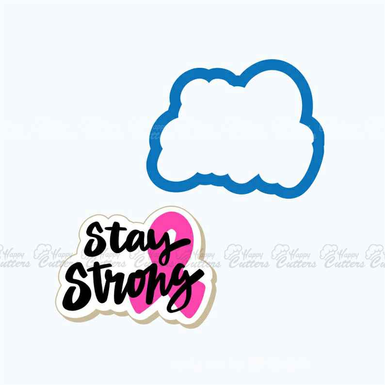 Stay Strong Plaque with Ribbon | Plaque Cookie Cutter | Plaque Cookies | Encouragement Cookies | Cancer Awareness | Frosted,                       letter cookie cutters, cursive letter cookie stamp, cursive letter fondant cutters, fancy letter cookie cutters, large letter cookie cutters, letter shaped cookie cutters, weed cookie cutter, fondant cutters, skyline fondant cutter, sweet sugarbelle alphabet cookie cutters, wilton comfort grip cookie cutters, puzzle cookie cutter, reindeer head cookie cutter, baby shower cookie stencils,