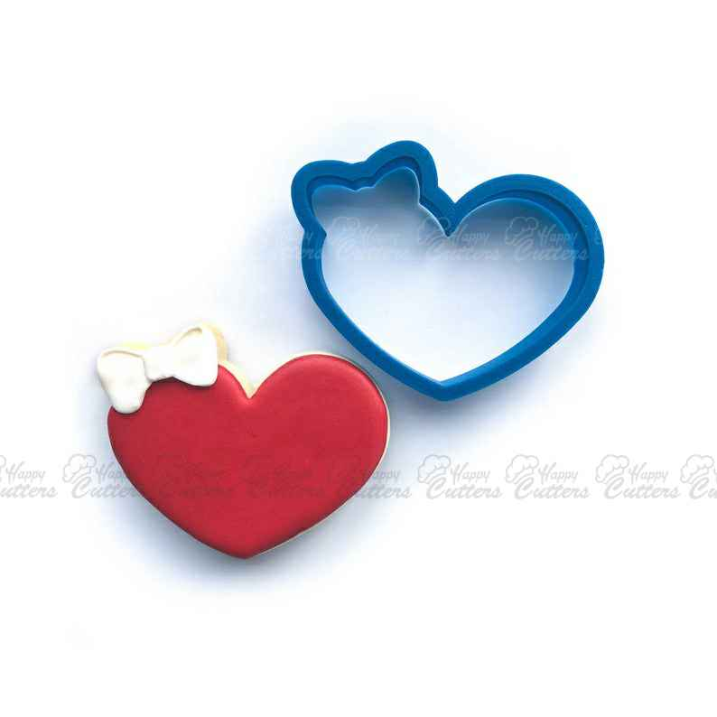 Heart Cookie Cutter | Heart with Bow Cookie Cutter | Valentine Cookie Cutter | Valentines Cookie Cutter | Unique Cookie Cutters,                       heart cookie cutter, heart shaped cookie cutter, heart cutter, heart shape cutter, mini heart cookie cutter, love heart cookie cutter, number 16 cookie cutter, jokumo, animal biscuit cutters, cheap cookie cutters canada, betty crocker cookie cutter set, festive cookie cutters, fattigmann cutter, character cookie cutters,