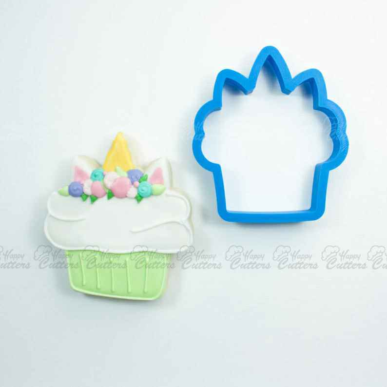 Unicorn Cupcake Cookie Cutter | Birthday Cookie Cutter | Cake Cookie Cutter | Mini Cookie Cutter | Cake Cookie Cutter | Unique Cookie Cutter,                       birthday cookie cutters, happy birthday cookie cutter, birthday cake cookie cutter, happy birthday cookie stamp, baby shower cookie cutters, bridal shower cookie cutters, bread shape cutter, harry potter cookie cutters australia, castle cookie cutter, mickey and minnie cookie cutters, cute sandwich cutters, dinosaur cookie cutters sainsburys, engagement cookie cutters, 7 cookie cutter,