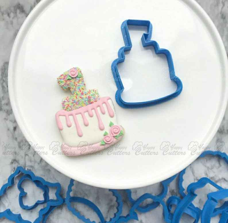 The Flour de Lis 1st Birthday Cake Cookie Cutter,                       birthday cookie cutters, happy birthday cookie cutter, birthday cake cookie cutter, happy birthday cookie stamp, baby shower cookie cutters, bridal shower cookie cutters, superman cutter, continent cookie cutters, truck cookie cutter michaels, razorback cookie cutter, letter e cookie cutter, fourth of july cookie cutters, r&m cookie cutters, kidney cookie cutter,