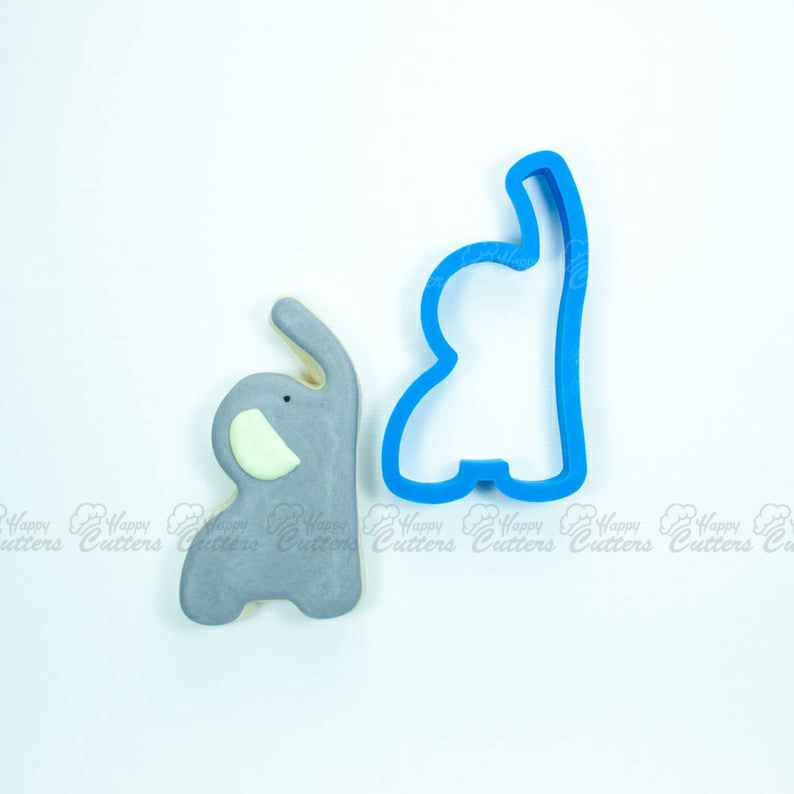 Raised Trunk Elephant Cookie Cutter | Baby Shower Cookie Cutters | Animal Cookie Cutters | Unique Cookie Cutters | Elephant Cookie Cutter,                       animal cutters, animal cookie cutters, farm animal cookie cutters, woodland animal cookie cutters, elephant cookie cutter, dinosaur cookie cutters, diy biscuit cutter, lilo and stitch cookie cutters, baby romper cookie cutter, mini metal cookie cutters, triceratops cookie cutter, custom cookie cutters, reindeer face cookie cutter, wilton fall cookie cutters,
