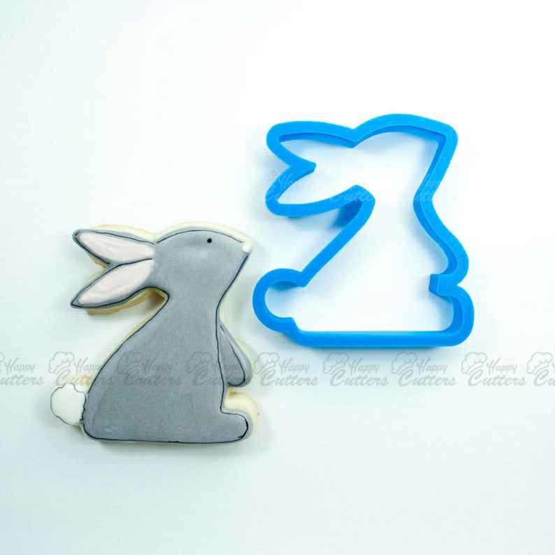 Sweet Bunny Cookie Cutter | Easter Bunny Cookie Cutter | Easter Cookie Cutter | Unique Cookie Cutter | Fondant Cutter | Mini Cutter,                       animal cutters, animal cookie cutters, farm animal cookie cutters, woodland animal cookie cutters, elephant cookie cutter, dinosaur cookie cutters, vintage car cookie cutter, bitten cookie cutter, truck cookie cutter, card suit cookie cutters, baseball cap cookie cutter, oak leaf cookie cutter, diamond ring cookie cutter, giant gingerbread cookie cutter,