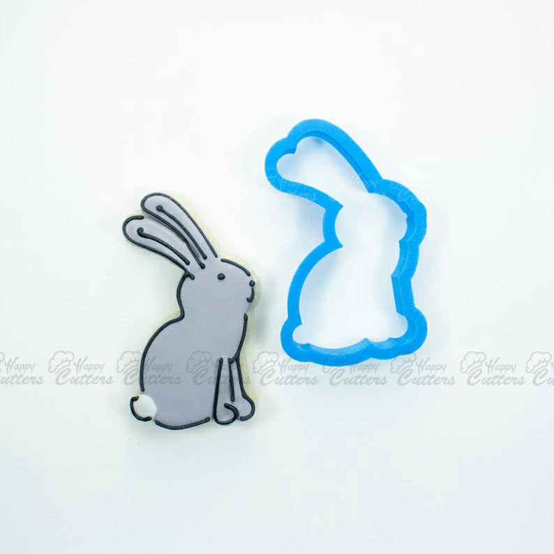 Woodland Rabbit Cookie Cutter | Easter Bunny Cookie Cutter | Woodland Cookie Cutters | Animal Cookie Cutters | Easter Cookie Cutters,                       animal cutters, animal cookie cutters, farm animal cookie cutters, woodland animal cookie cutters, elephant cookie cutter, dinosaur cookie cutters, running shoe cookie cutter, father's day cookie cutters, cookie cutter with handle, bear cookie cutter, leaf cookie cutter walmart, custom made cookie cutters, splash cookie cutter, darth vader cookie cutter,