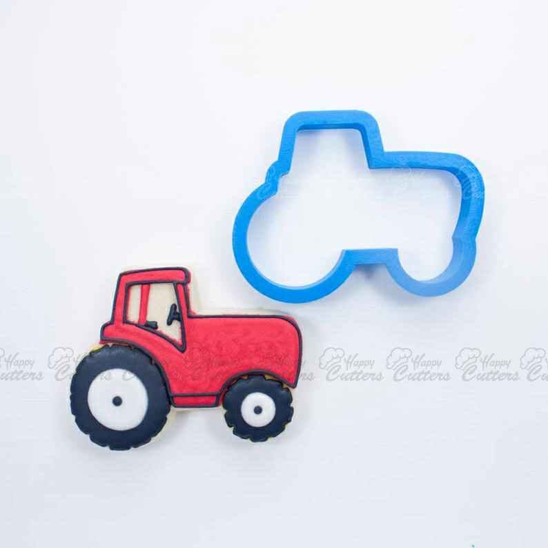 Tractor Cookie Cutter | Mini Tractor Cookies | Truck Cookie Cutters | Birthday Cookie Cutters | Unique Cookie Cutters | 3D Cookie Cutters,                       airplane cookie cutter	, transport cookie cutters, ship cookie cutter, bicycle cookie cutter, bus cookie cutter, car cookie cutter, jungle animal cookie cutters, dog bone shaped cookie cutter, door cookie cutter, square cookie cutter set, peach cookie cutter, holly cookie cutter, dodgers cookie cutter, superman fondant cutter,