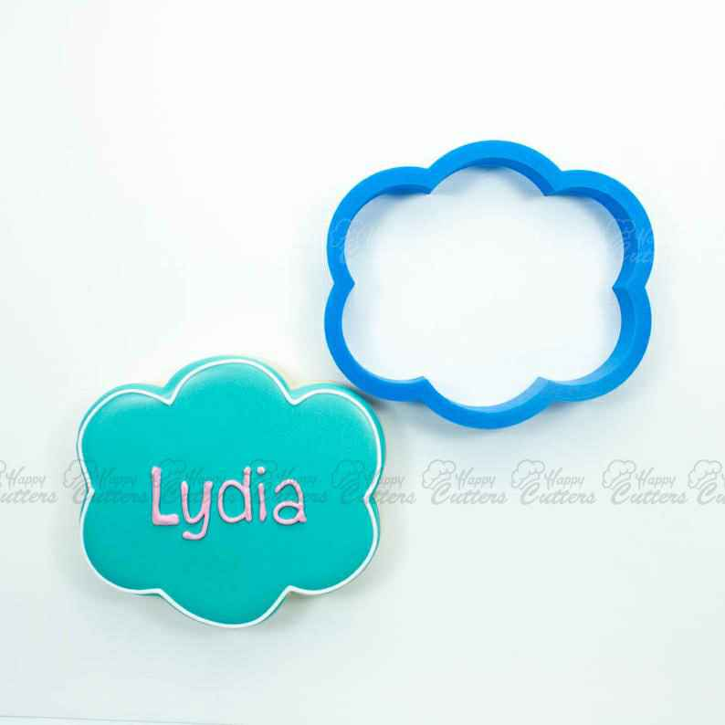 The Lydia Plaque Cookie Cutter,                       plaque cookie cutter, plaque cookie, square plaque cookie cutter, cookie plaque, shape cutters, round cookie cutters, best cookie cutters ever, rolling biscuit cutter, mini gingerbread cutter, mini gingerbread man cookie cutter, cheer cookie cutters, large gingerbread house cookie cutter, dove cutter, hen cookie cutter,