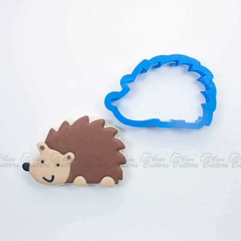 Woodland Hedgehog Cookie Cutter | Animal Cookie Cutters | Mini Cookie Cutters | Small Cookie Cutters | Unique Cookie Cutters,                       animal cutters, animal cookie cutters, farm animal cookie cutters, woodland animal cookie cutters, elephant cookie cutter, dinosaur cookie cutters, perfume bottle cookie cutter, poinsettia fondant cutter, cheerleader cookie cutter, wonder woman fondant cutter, candy cane cookie cutter, number two cookie cutter, mickey mouse fondant cutter, mini letter cookie cutters,