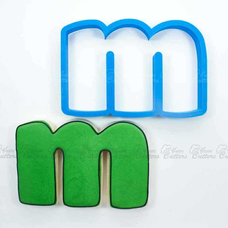 Letter M Cookie Cutter | Alphabet Cookie Cutters | Letter Cookie Cutters | ABC Cookie Cutters | Large Alphabet Cookie Cutters,                       alphabet cookie cutters, alphabet cookie stamps, large alphabet cookie cutters, mini alphabet cookie cutters	, number cookie cutters, number 1 cookie cutter, baby dress cookie cutter, 3d dinosaur cookie cutters, veggie cutter shapes, small easter cookie cutters, hunting cookie cutters, cutitoutcutters, bone shaped cookie cutter, simba cookie cutter,