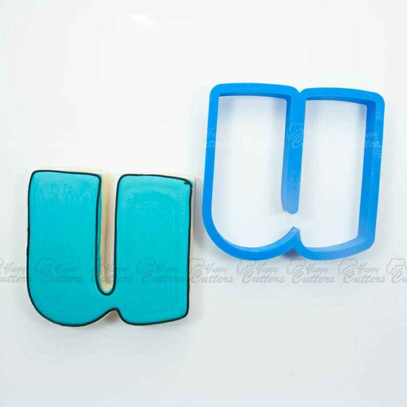 Letter U Cookie Cutter | Alphabet Cookie Cutters | Letter Cookie Cutters | ABC Cookie Cutters | Large Alphabet Cookie Cutters,                       alphabet cookie cutters, alphabet cookie stamps, large alphabet cookie cutters, mini alphabet cookie cutters	, number cookie cutters, number 1 cookie cutter, cookie cutter stamps, mermaid tail cutter, the range cookie cutters, banner cookie cutter, bunny biscuit cutter, stitch cookie cutter, top hat cookie cutter, doll cookie cutter,