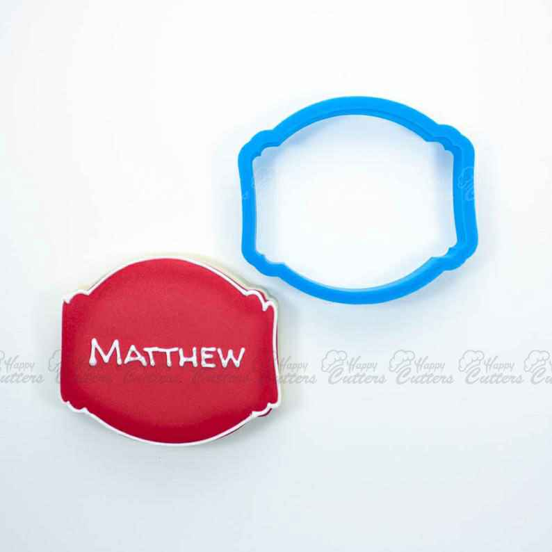 The Matthew Plaque Cookie Cutter,                       plaque cookie cutter, plaque cookie, square plaque cookie cutter, cookie plaque, shape cutters, round cookie cutters, large star cookie cutter, stag cookie cutter, canadian tire cookie cutters, jojo cookie cutter, transport cookie cutters, baby elephant cookie cutter, vintage cookie stamps, bunny head cookie cutter,
