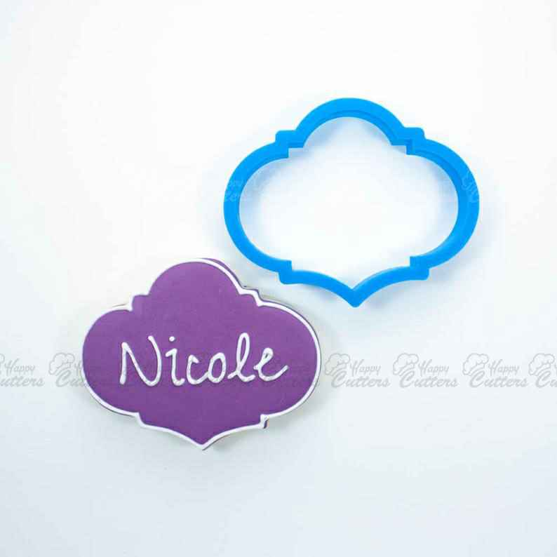 The Nicole Plaque Cookie Cutter,                       plaque cookie cutter, plaque cookie, square plaque cookie cutter, cookie plaque, shape cutters, round cookie cutters, donald duck cookie cutter, rolling stones cookie cutter, winter cookie cutters, snow globe cookie cutter michaels, linzer cookie cutters michaels, dinosaur fossil cookie cutters, wilton metal cookie cutters, farm animal cutters,
