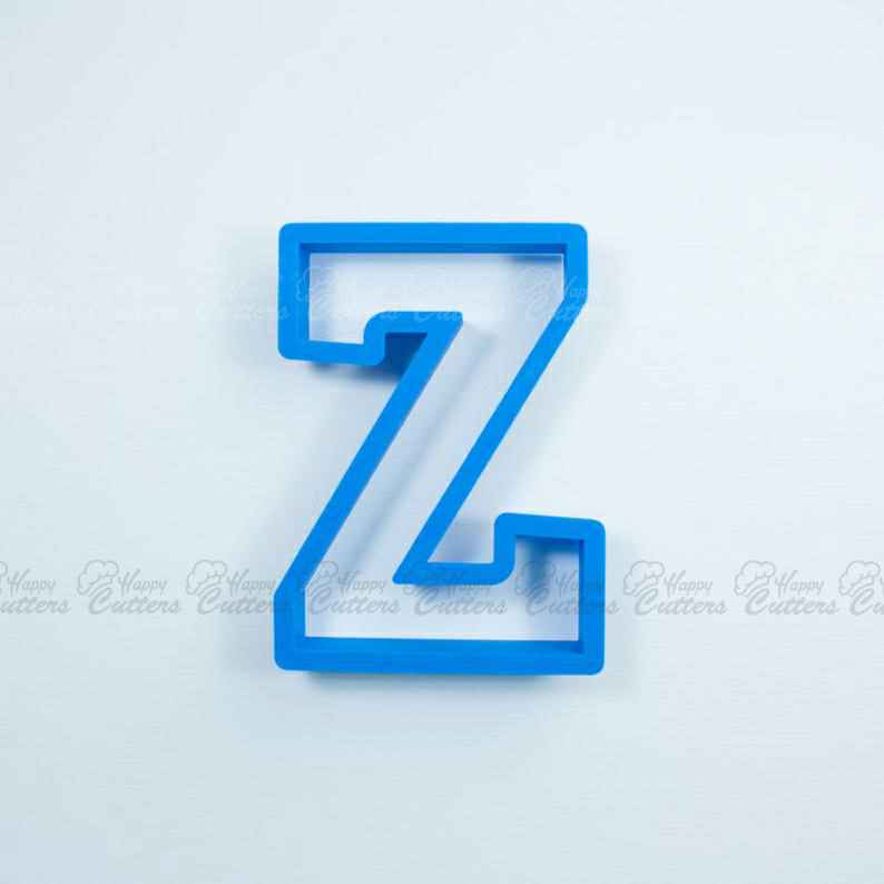 Block Letter Z Cookie Cutter | Alphabet Cookie Cutters | Letter Cookie Cutters | ABC Cookie Cutters | Block Letters Alphabet Cookie Cutters,                       alphabet cookie cutters, alphabet cookie stamps, large alphabet cookie cutters, mini alphabet cookie cutters	, number cookie cutters, number 1 cookie cutter, gingerbread christmas tree cookie cutter set, flower shaped cookie cutter, elf cookie cutter, planet cookie cutters, egg cookie cutter, mini christmas cookie cutters, letter shaped cookie cutters, christmas light bulb cookie cutter,