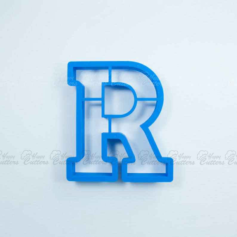 Block Letter R Cookie Cutter | Alphabet Cookie Cutters | Letter Cookie Cutters | ABC Cookie Cutters | Block Letters Alphabet Cookie Cutters,                       alphabet cookie cutters, alphabet cookie stamps, large alphabet cookie cutters, mini alphabet cookie cutters	, number cookie cutters, number 1 cookie cutter, smiley face cookie cutter, castle cookie cutter, scalloped rectangle cookie cutter, fluted rectangle cookie cutter, lightning mcqueen cookie cutter, cherry cookie cutter, linzer cookie cutter, peacock cookie cutter,