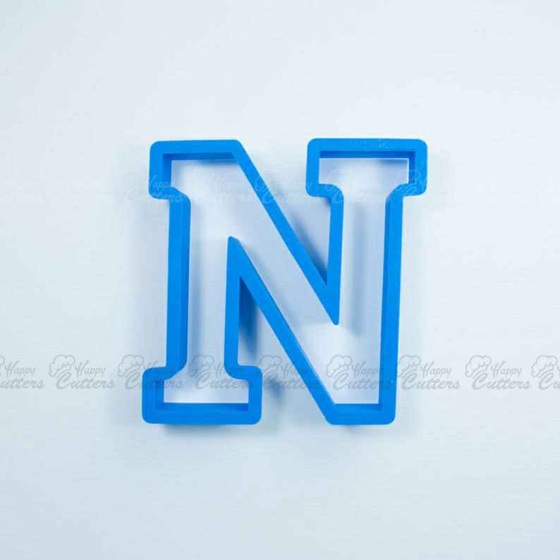 Block Letter N Cookie Cutter | Alphabet Cookie Cutters | Letter Cookie Cutters | ABC Cookie Cutters | Block Letters Alphabet Cookie Cutters,                       alphabet cookie cutters, alphabet cookie stamps, large alphabet cookie cutters, mini alphabet cookie cutters	, number cookie cutters, number 1 cookie cutter, flamingo cookie cutter, baby shower cookie cutters michaels, horseshoe cookie cutter, tin cookie cutters, mickey mouse cookie cutter hobby lobby, descendants cookie cutter, cookie impression stamps, alpaca cookie cutter,