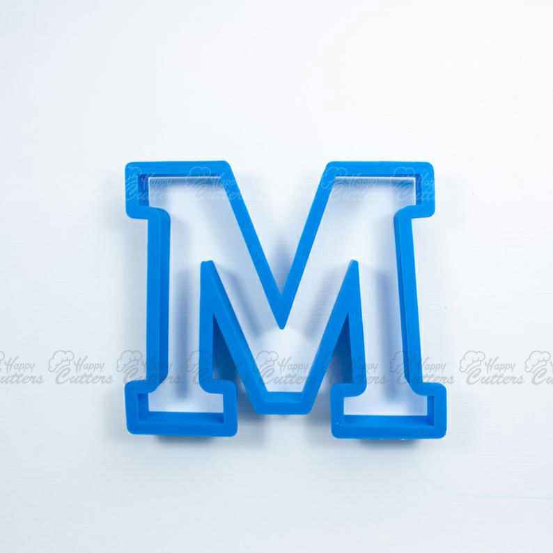 Block Letter M Cookie Cutter | Alphabet Cookie Cutters | Letter Cookie Cutters | ABC Cookie Cutters | Block Letters Alphabet Cookie Cutters,                       alphabet cookie cutters, alphabet cookie stamps, large alphabet cookie cutters, mini alphabet cookie cutters	, number cookie cutters, number 1 cookie cutter, farmers cookie cutters, gymnast cookie cutter, sasquatch cookie cutter, dog shaped cookie, mickey mouse cookie cutter canada, wrench cookie cutter, pig shaped cookie cutter, cookie cutters uk,