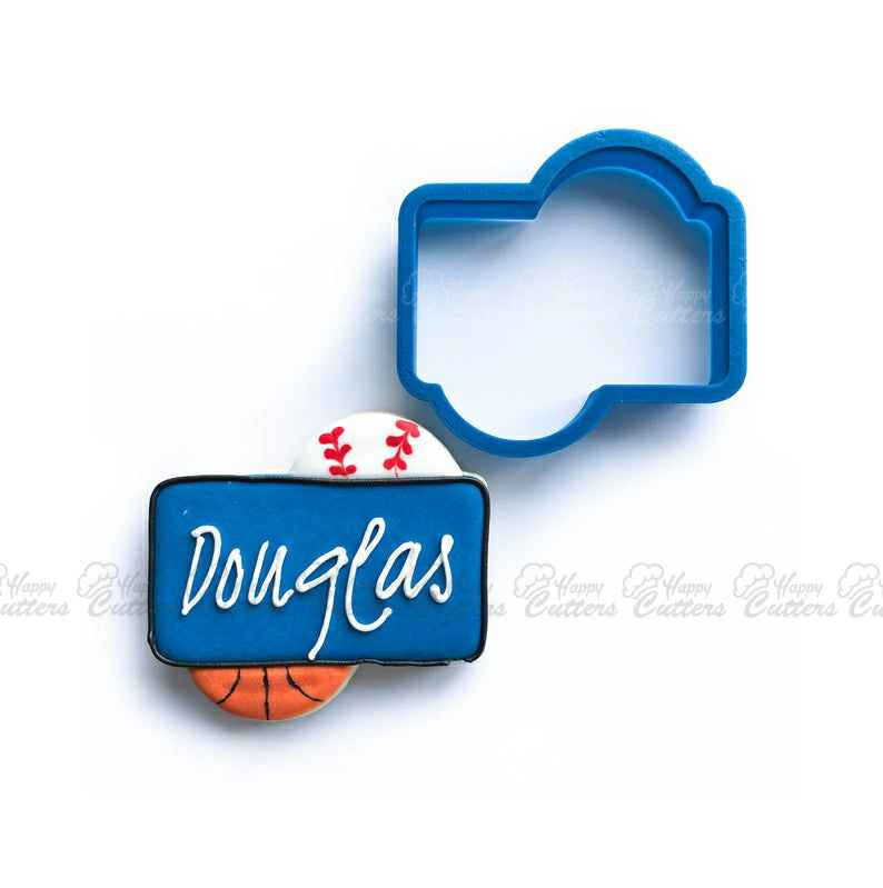 The Douglas Plaque Cookie Cutter,                       plaque cookie cutter, plaque cookie, square plaque cookie cutter, cookie plaque, shape cutters, round cookie cutters, x cookie cutter, mini pastry cutters, use of cookie cutter, elephant biscuit cutter, pineapple tart cutter, dinosaur cutters, skull cookie cutter michaels, playing card cookie cutters,