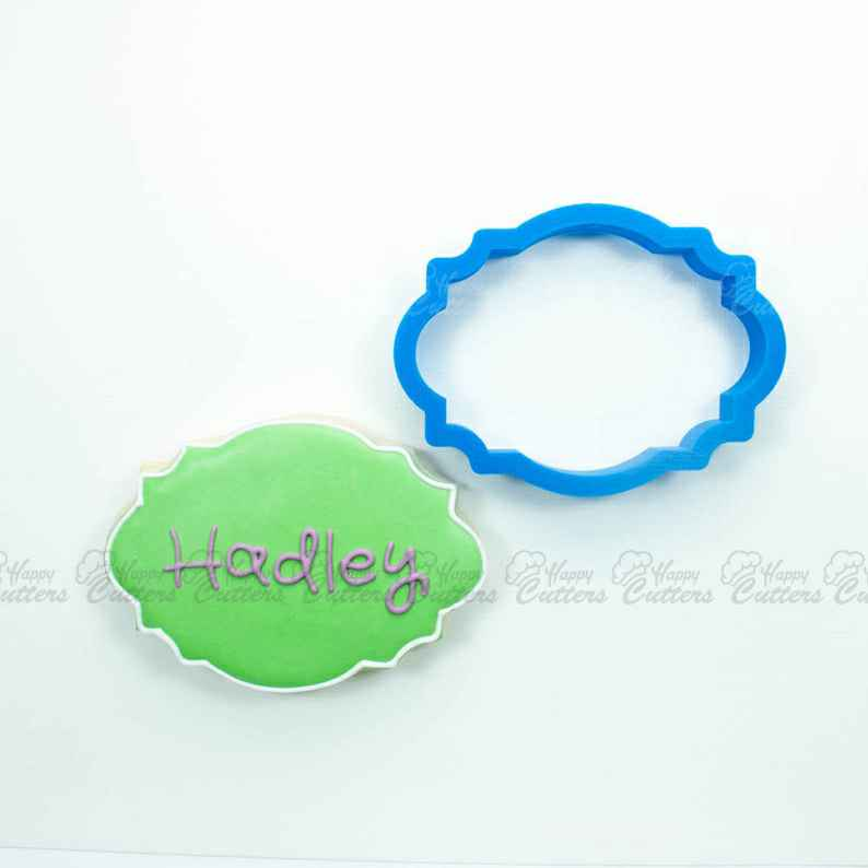 The Hadley Plaque Cookie Cutter,                       plaque cookie cutter, plaque cookie, square plaque cookie cutter, cookie plaque, shape cutters, round cookie cutters, sonic the hedgehog cookie cutter, snail cookie cutter, teapot cookie cutter, train cookie cutter, bunny shaped cookie cutter, avon christmas tree cookie cutters, animal cracker cookie cutters, number one cookie cutter,