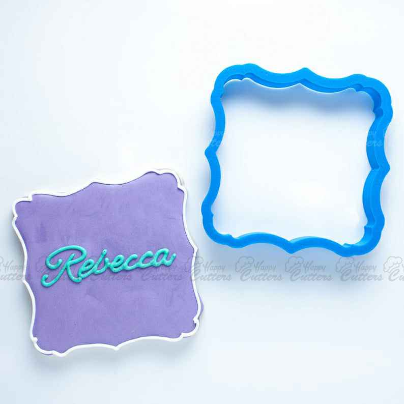 The Rebecca Plaque Cookie Cutter,                       plaque cookie cutter, plaque cookie, square plaque cookie cutter, cookie plaque, shape cutters, round cookie cutters, wilton graduation cookie cutters, graduation gown cookie cutter, daiso cookie cutter, lilo and stitch cookie cutters, first birthday cookie cutter, dragon ball cookie cutter, wedding cookie cutter set, arrow cookie cutter,