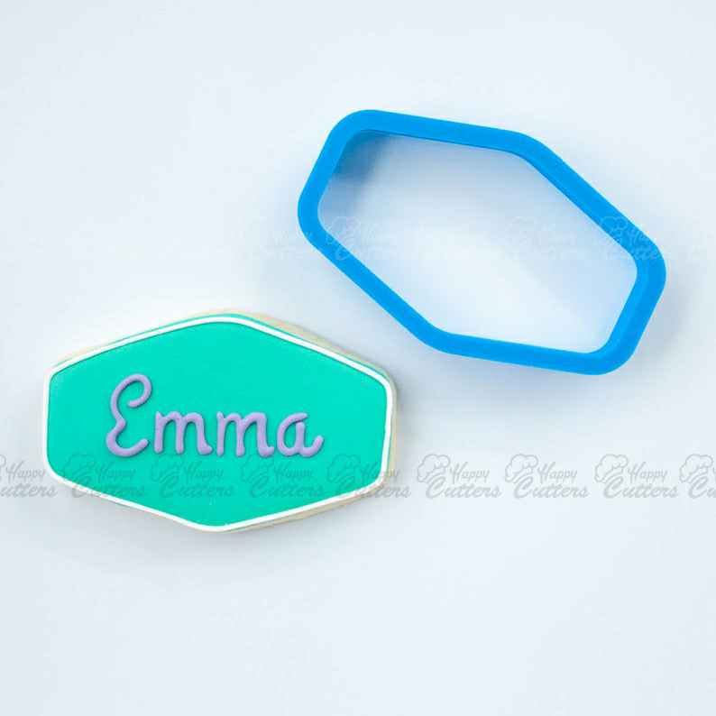 The Emma Plaque Cookie Cutter,                       plaque cookie cutter, plaque cookie, square plaque cookie cutter, cookie plaque, shape cutters, round cookie cutters, corn cookie cutter, hibiscus flower cookie cutter, sea life cookie cutters, cookie cutter family, round fondant cutters, diamond shaped cookie cutter, heart shaped cutter asda, cookie cutter stores near me,