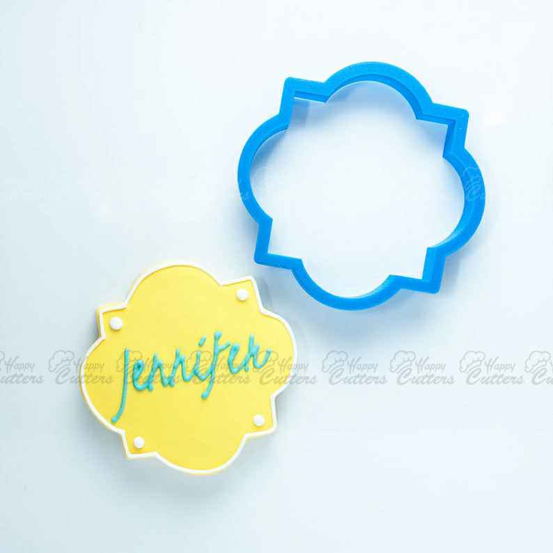 The Jennifer Plaque Cookie Cutter,                       plaque cookie cutter, plaque cookie, square plaque cookie cutter, cookie plaque, shape cutters, round cookie cutters, stainless steel biscuit cutter, small gingerbread man cutter, detailed cookie cutters, extra large gingerbread man cookie cutter, shortbread cookie stamp, paw cookie cutter, rolling pin cutter, assorted cookie cutters,