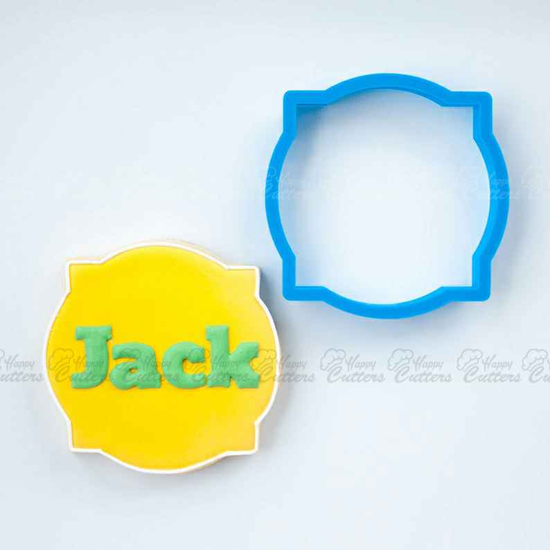 The Jack Plaque Cookie Cutter,                       plaque cookie cutter, plaque cookie, square plaque cookie cutter, cookie plaque, shape cutters, round cookie cutters, barbell cookie cutter, snowflake cookie cutter, cotton candy cookie cutter, tiny christmas cookie cutters, petit beurre cookie cutter, cutitoutcutters, wonder woman cookie cutter, lv cookie cutter,