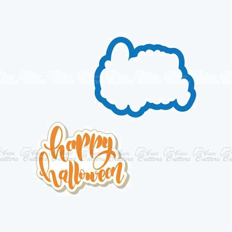 Happy Halloween Plaque Cookie Cutter,                       letter cookie cutters, cursive letter cookie stamp, cursive letter fondant cutters, fancy letter cookie cutters, large letter cookie cutters, letter shaped cookie cutters, dog breed cookie cutters, pastry cutters asda, masonic cookie cutter, peppa pig cookie cutter canada, tiny gingerbread man cutter, tie cookie cutter, cookie cutter fortnite, cookie cutter people,