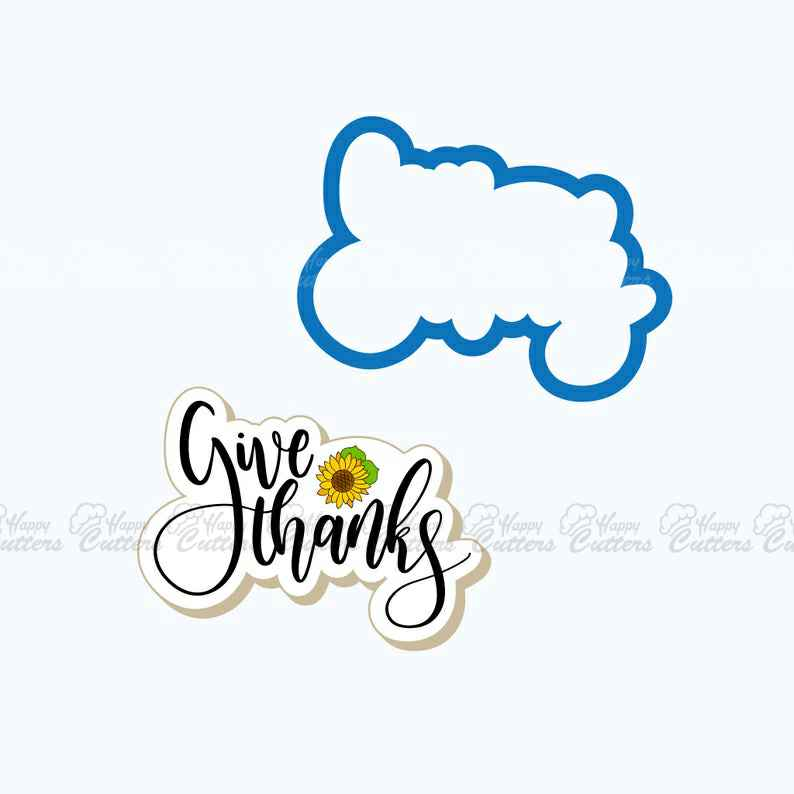 Give Thanks Plaque Cookie Cutter,                       letter cookie cutters, cursive letter cookie stamp, cursive letter fondant cutters, fancy letter cookie cutters, large letter cookie cutters, letter shaped cookie cutters, sandwich cookie cutters, overwatch cookie cutter, pampered chef rolling cookie cutter, embossed cookie cutters, wilton gingerbread cookie cutter, superhero fondant cutters, japanese cookie cutters, micro cookie cutters,