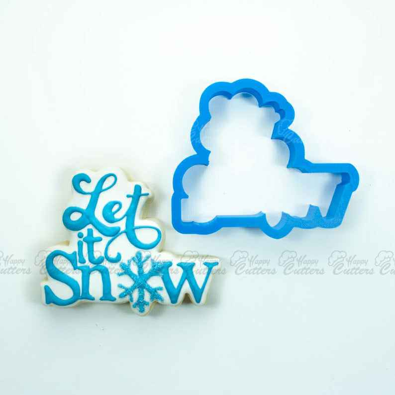 Let It Snow Cookie Cutter,                       letter cookie cutters, cursive letter cookie stamp, cursive letter fondant cutters, fancy letter cookie cutters, large letter cookie cutters, letter shaped cookie cutters, letter biscuit cutters, frida kahlo cookie cutter, flag cookie cutter, cassette tape cookie cutter, medical cookie cutters, 50th birthday cookie cutters, stitch cookie cutter, cookie fondant stamp,