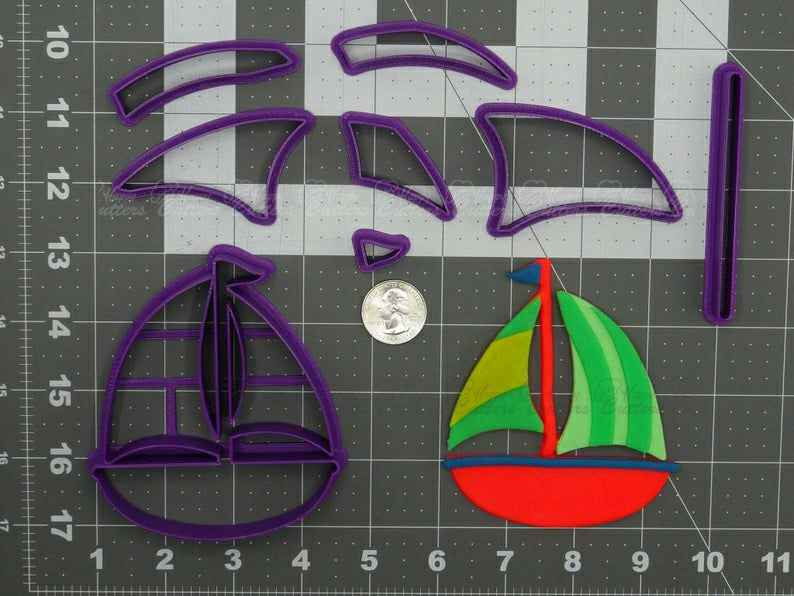 Sail Boat  Cookie Cutter Set,                       airplane cookie cutter	, transport cookie cutters, ship cookie cutter, bicycle cookie cutter, bus cookie cutter, car cookie cutter, jojo bow cookie cutter, pocoyo cookie cutter, cookie cutter online, pizza slice cookie cutter, golden girls cookie cutters, donald duck cookie cutter, minnie mouse cutter, mustang cookie cutter,