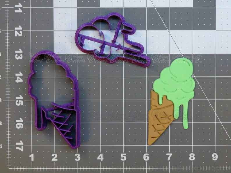Ice Cream Cookie Cutter Set,                       ice cream cookie cutter, ice cream cone cookie cutter, ice cream truck cookie cutter, sweet cutters, food shape cutters, food cookie cutters, batman cookie cutter, one cookie cutter, biscuit cutter with handle, pusheen cookie cutter set, syringe cookie cutter, mixer cookie cutter, llama cookie cutter hobby lobby, circle cake cutter,