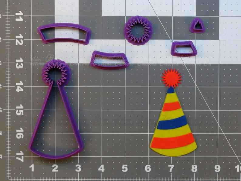 Party Hat  Cookie Cutter Set,                       birthday cookie cutters, happy birthday cookie cutter, birthday cake cookie cutter, happy birthday cookie stamp, baby shower cookie cutters, bridal shower cookie cutters, rabbit cutters, graduation hat cookie cutter, pinata cookie cutter, martini glass cookie cutter, python cookiecutter, metal cookie cutters walmart, elk cookie cutter, fussy pup cookie cutters,