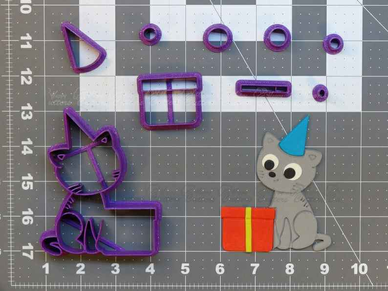 Birthday Cat Cookie Cutter Set,                       birthday cookie cutters, happy birthday cookie cutter, birthday cake cookie cutter, happy birthday cookie stamp, baby shower cookie cutters, bridal shower cookie cutters, small heart shaped cutter, christmas cookie cutters target, e cookie cutter, gingerbread house cutter kit, cookie cutter world, dutch windmill cookie cutter, buy cookie cutters, ninjabread cookie cutters,