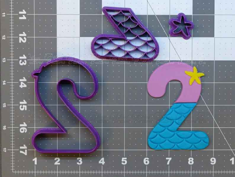 Mermaid Number - Two  Cookie Cutter Set,                       alphabet cookie cutters, alphabet cookie stamps, large alphabet cookie cutters, mini alphabet cookie cutters	, number cookie cutters, number 1 cookie cutter, elvis cookie cutter, dinosaur cookie cutters amazon, nutcracker cookie cutter, candy cane cookie cutter, 3d christmas cookie cutter set, cookie cutter set, minnie mouse bow cookie cutter, a cookie cutter,