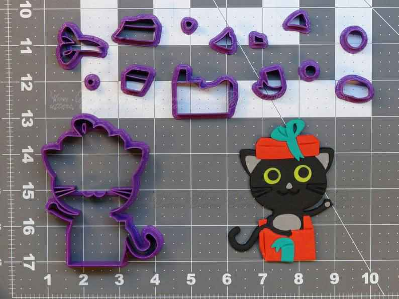 Birthday Cat  Cookie Cutter Set,                       birthday cookie cutters, happy birthday cookie cutter, birthday cake cookie cutter, happy birthday cookie stamp, baby shower cookie cutters, bridal shower cookie cutters, pi cookie cutter, elf cookie cutter, wilton cookie tree cutter kit, kids cutter, martini cookie cutter, beach ball cookie cutter, bear cookie cutter, sweet sugarbelle halloween cookie cutters,
