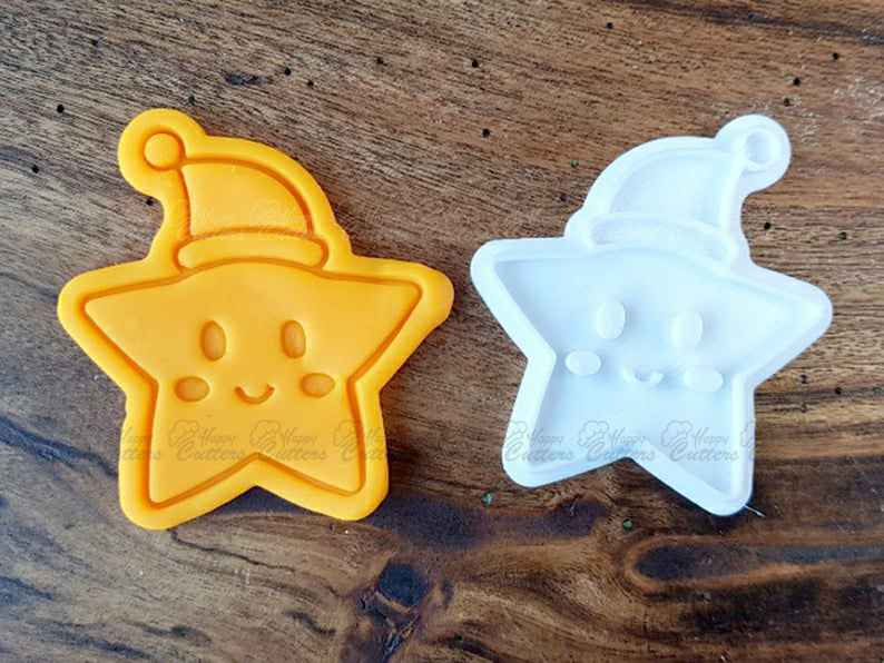 Baby Star Santa Cookie Cutter and Stamp (2 Pcs),                       star cookie cutter, star shaped cookie cutter, small star cookie cutter, star shape cutter, star fondant cutter, outer space cookie cutters, mickey and minnie cookie cutters, pinkfong cookie cutter, vw bus cookie cutter, religious cookie cutters, oval cookie cutter, pants cookie cutter, baby cutters, cat treat cookie cutters,