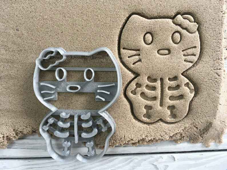 Cat with bones Cookie cutter Set,                       skeleton cookie cutter, gingerdead men, gingerdead man cookie cutter, skull cookie cutter, sugar skeleton cookie cutter, skeleton cookie cutters, the cookie cutter shop, cheer cookie cutters, gingerbread man cookie cutter walmart, mickey gingerbread cookie cutter, round cutter set, biscuit and doughnut cutter, poker cookie cutters, gingerbread house cutters,