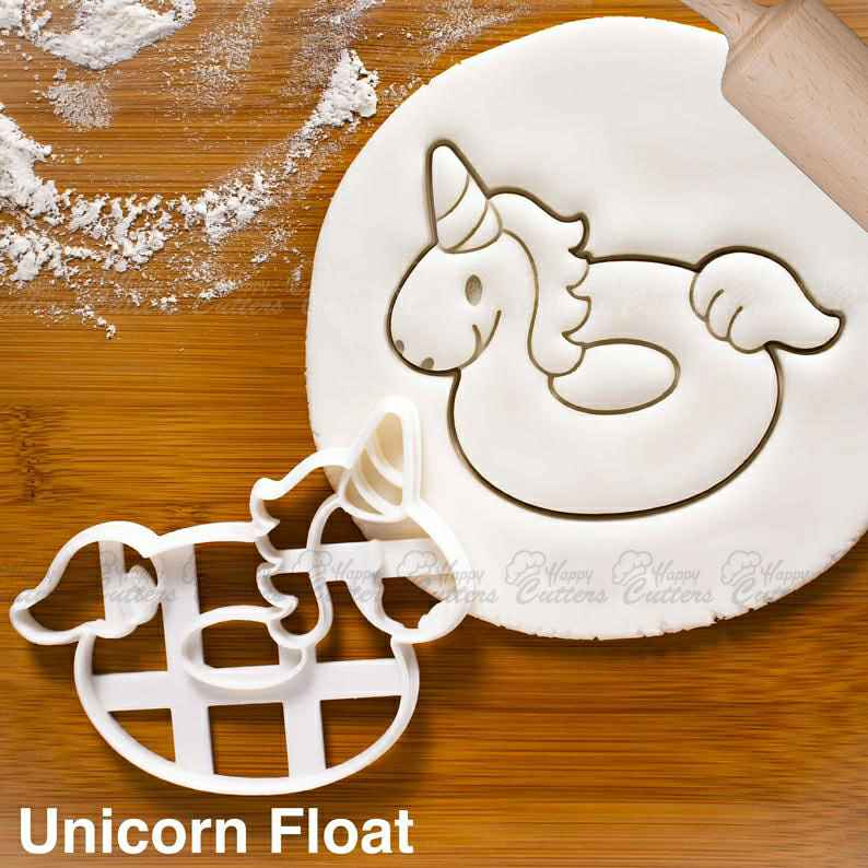 Unicorn Float cookie cutter - nautical summer birthday pool party,                       beach cookie cutters, beach themed cookie cutters, beach ball cookie cutter, summer cookie cutters, holiday cookie cutters, holiday cookie cutter set, elephant cookie cutter michaels, cookie cutter python, lady milkstache cookie cutters, chicken cookie cutter, t shirt cookie cutter, cup cookie cutter, cutitoutcutters, power ranger cookie cutters,