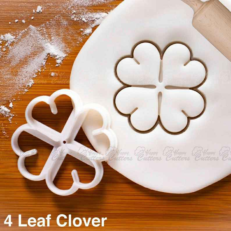 4 Leaf Clover cookie cutter |  biscuit cutters shamrock Ireland patron saint Holy Trinity seamair óg St. Patrick Day luck lucky,                       fall cookie cutters, mini fall cookie cutters, wilton fall cookie cutters, leaf cookie cutter, maple leaf cookie cutters, leaf fondant cutter, cookie platter cutters, japanese cookie cutters, tie cookie cutter, autumn leaf cutters, multi cookie cutter, flower shaped cookie cutter, ring cookie cutter, cookie cutter baking,